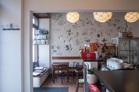 Mural for Náš Bar Cafe
