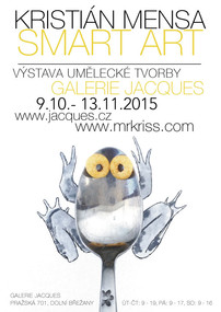 My very first exhibition in Galerie Jacques