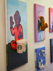 Exhibition in Galerie K
