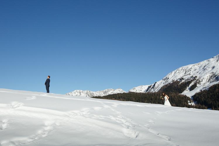 First Look im Schnee