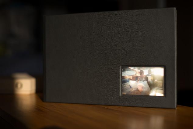 ART Album – Ledercover schwarz