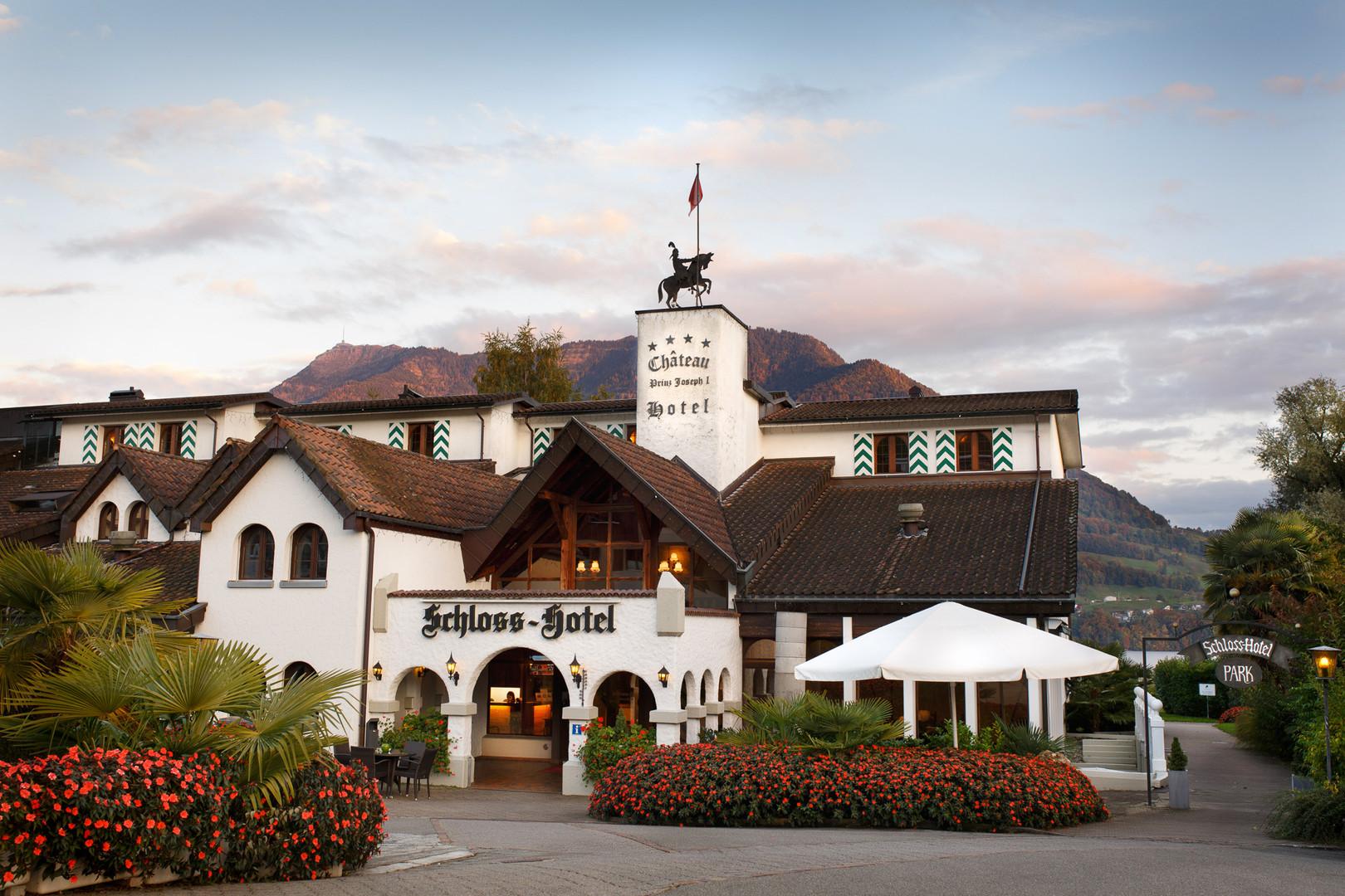 Hotelfotografie –Schloss Hotel Merlischachen
