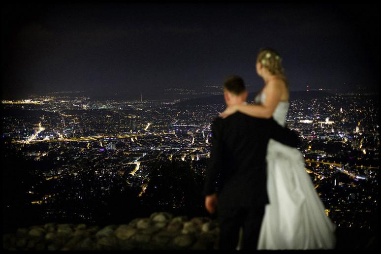 Hochzeit auf dem Uetliberg