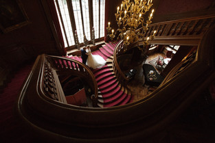 Hochzeit in der Villa St.Charles Hall