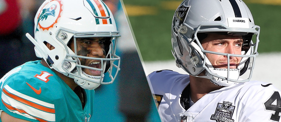 Raiders Looking to Kill the Dolphins ....Playoff Chances! Odds, Preview, and Picks!
