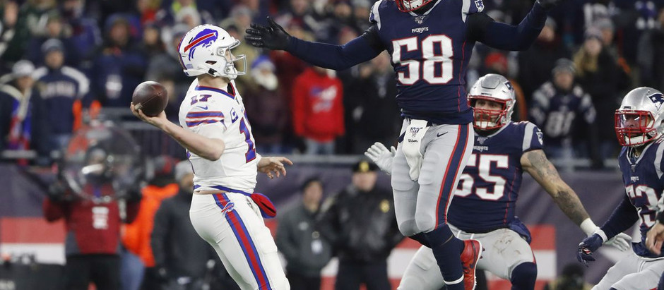 Monday Night Mania - Buffalo Bills @ New England Patriots