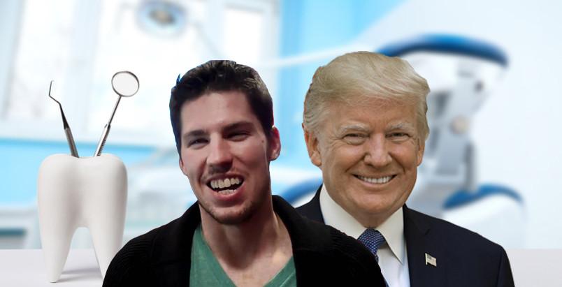 Donald Trump promises Logan Couture...