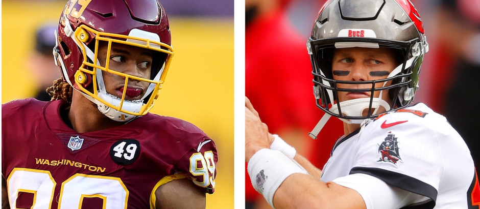 Super Wildcard Weekend Tampa Bay Buccaneers vs The Washington Football Team NFL Best Bets!