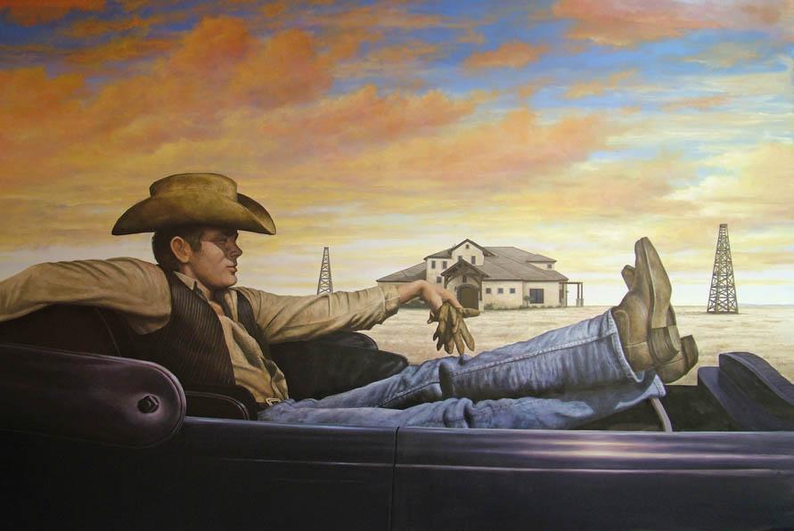 James Dean Giant Scene