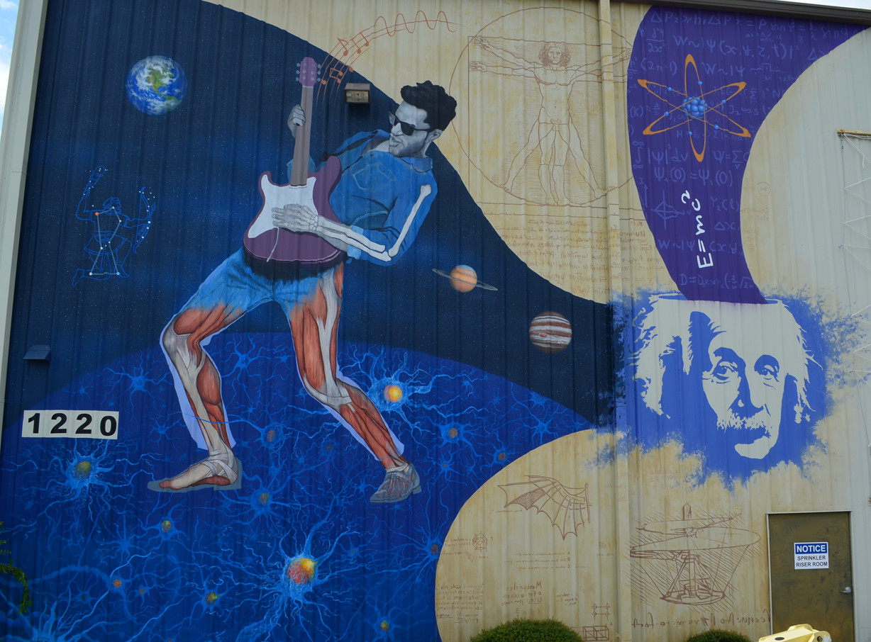 Texas Museum of Science & Technology Mural