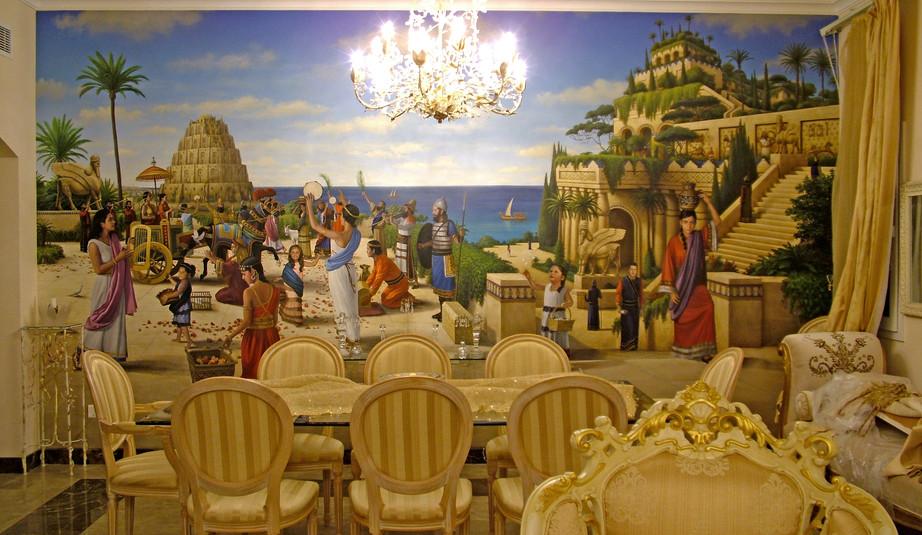 The Arrival of Queen Semiramis in Babylon Installed