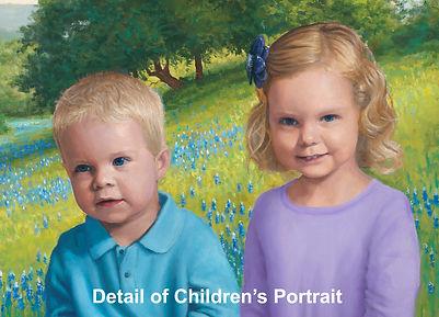 Painting Class, Children's Portrait