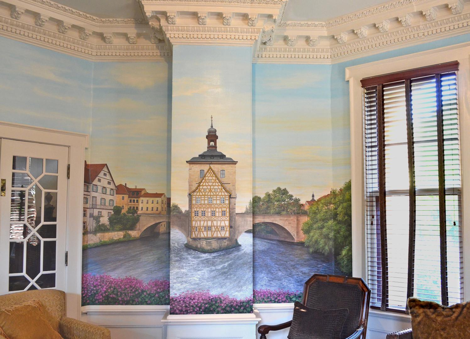 Scenes of Bamberg, Germany Mural