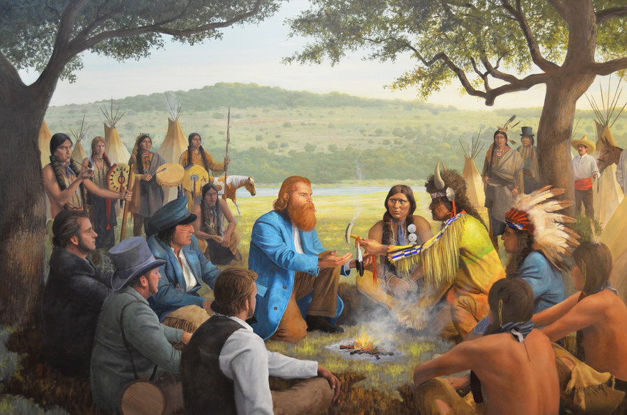 Treaty with the Comanches, 1847