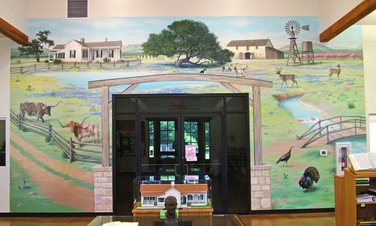 Texas Hill Country Mural