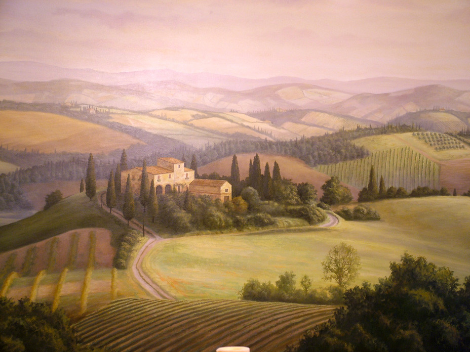 Tuscan Scene Closeup
