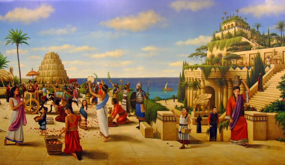 The Arrival of Queen Semiramis in Babylon