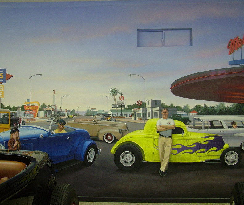 Car Museum City Street