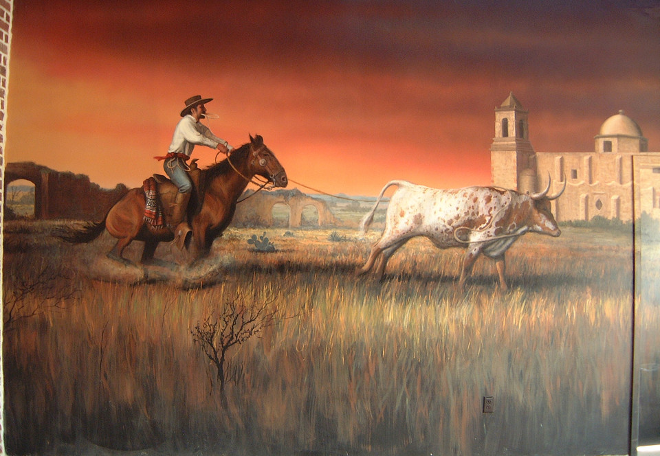 Spanish Colonial Cattle Roundup