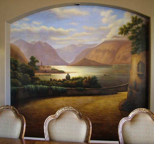 Lake Como Scene