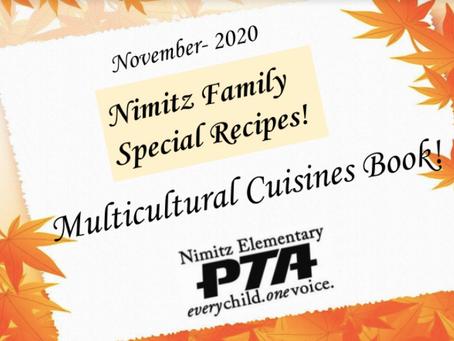 Nimitz Multicultural Cuisines Cookbook