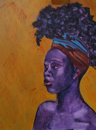 Girl's Head no 2