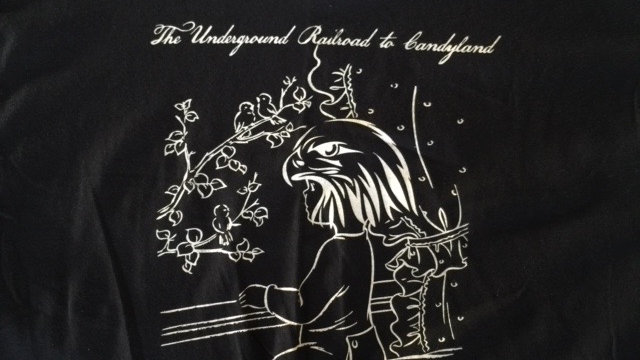 UNDERGROUND RAILROAD TO CANDYLAND-2015 Tour/Ppl R Hm (T-Shirt/Tote Bag)