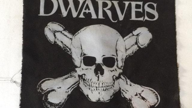 DWARVES - Big Back Patch