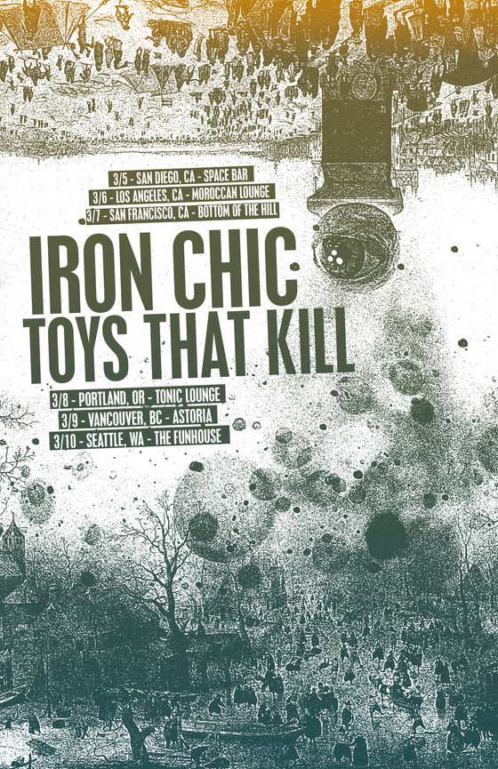 Iron Chic / Toys That Kill West Coast Tour!