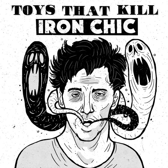 TOYS THAT KILL / IRON CHIC Split LP Preorder!