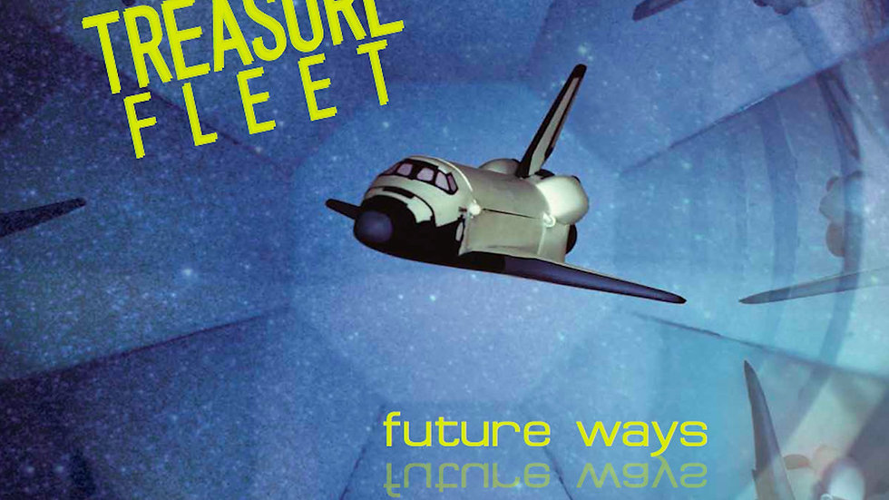 TREASURE FLEET - Future Ways (LP+DL)