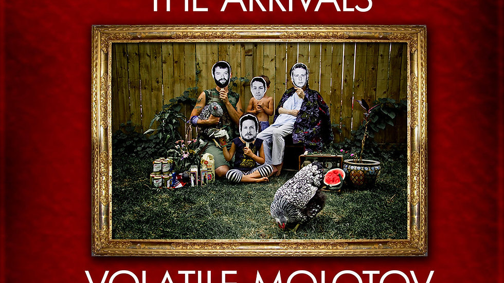 THE ARRIVALS - Volatile Molotov (LP+DL/CD)