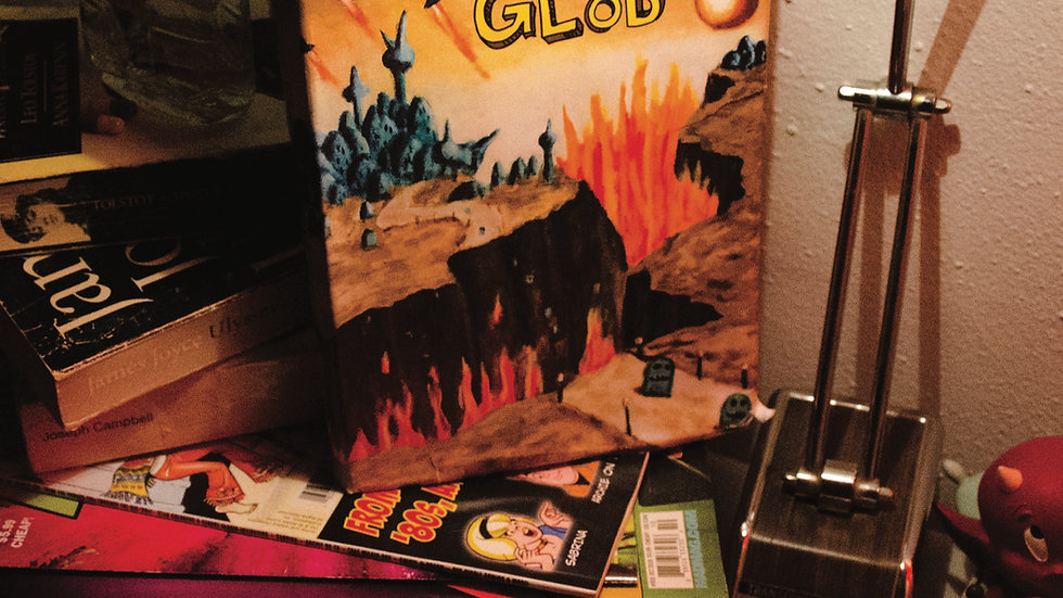 THE GLOBS - The Weird and Wonderful World LP