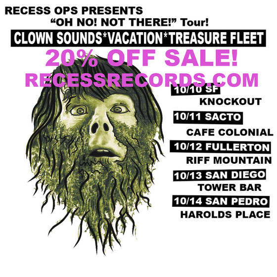 20% OFF SALE / Oh No! Not There! Tour 2018!