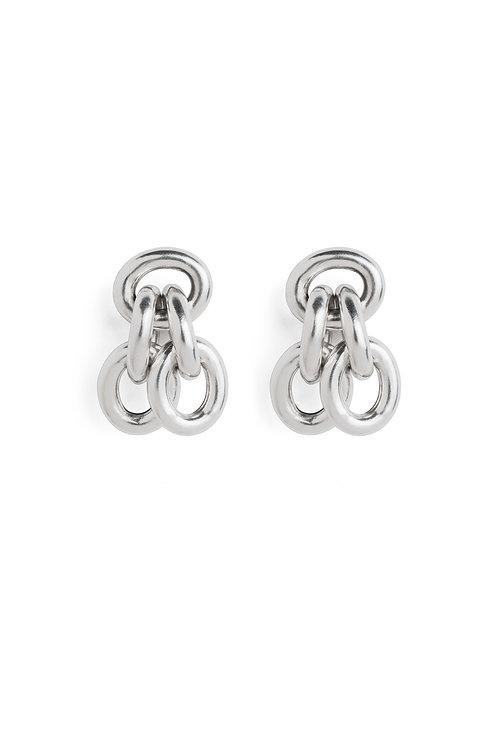 heavy sun earrings