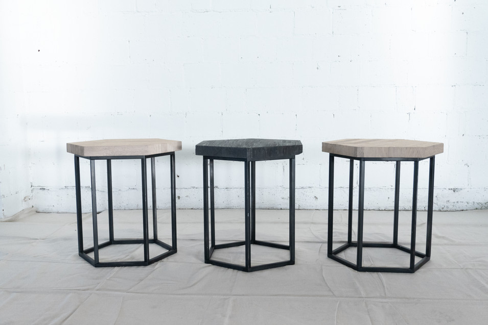 Hexagon Tables / Seating