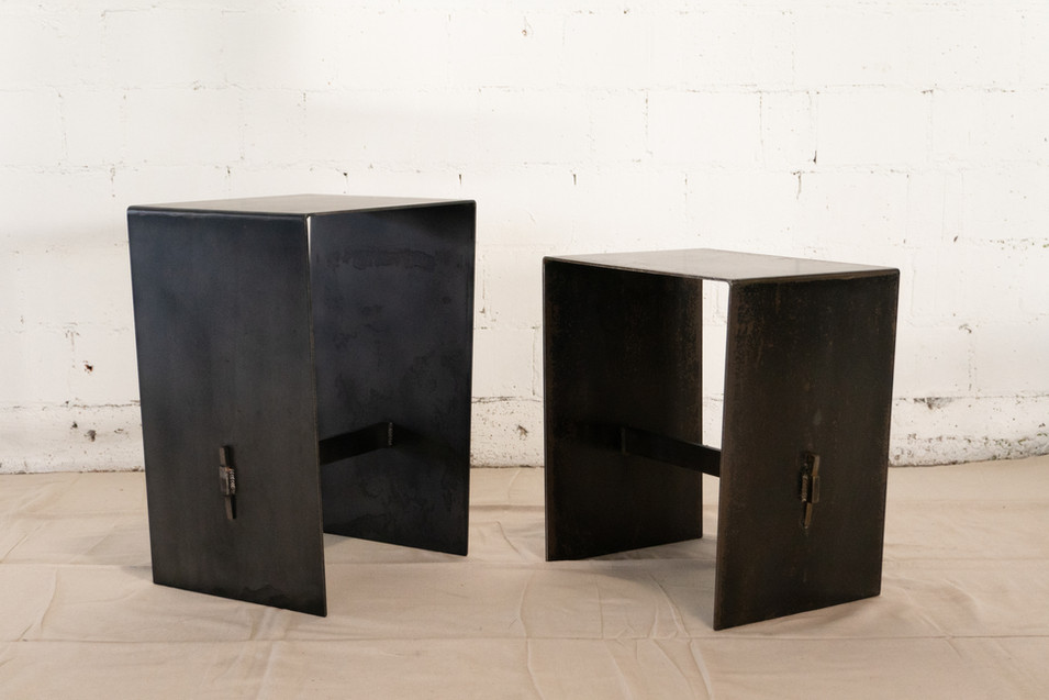 Steel Side Tables