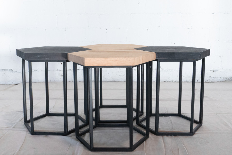 Hexagon Tables Arrangement