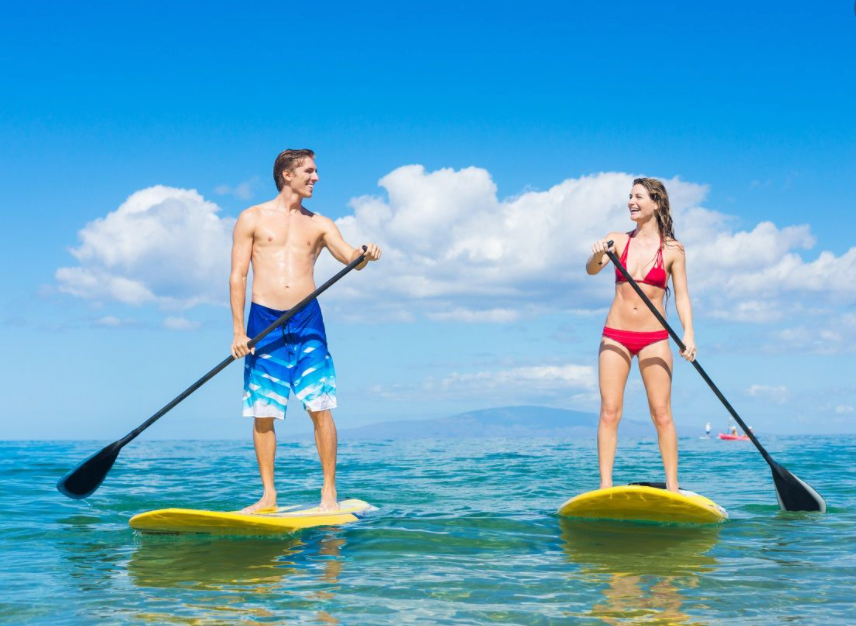 INTRO TO STAND UP PADDLING- LESSON