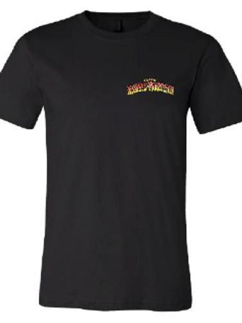 10th Annual Reggae On The Mountain Black T- Shirt- Unisex