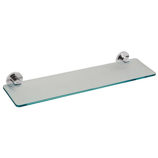 VADO FROSTED SHELF FOR BATHROOM RENNOVATIONS