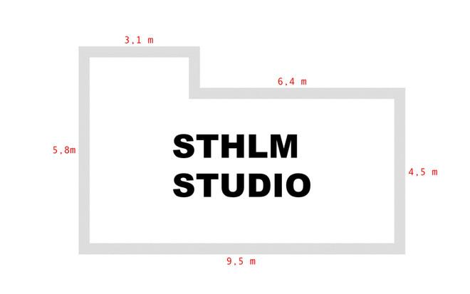 STHLM STUDIO MÅTT