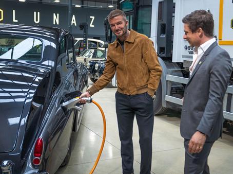David Beckham's new car company