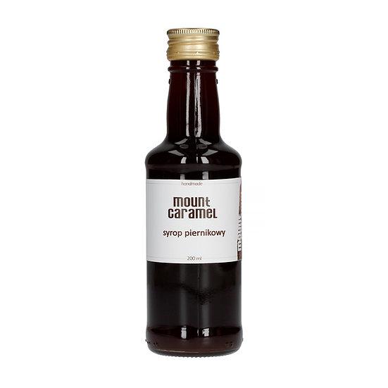 Syrop piernikowy do kawy Mount Caramel 200ml