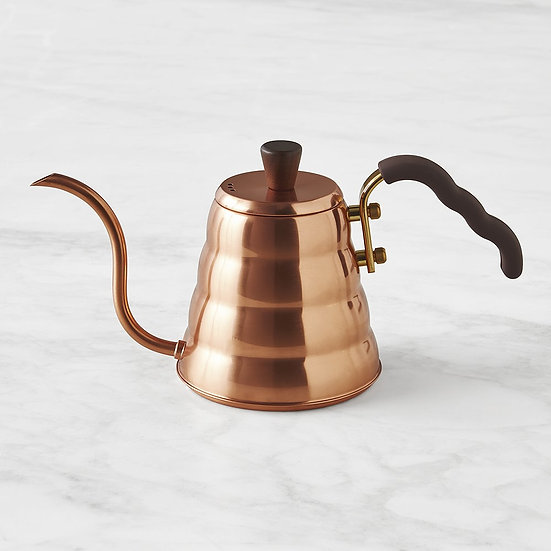 Złoty Hario Copper Buono Kettle 900ml New