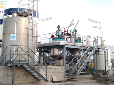 OHP waste water treatment