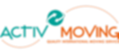 Logo Activmoving, un globe vert