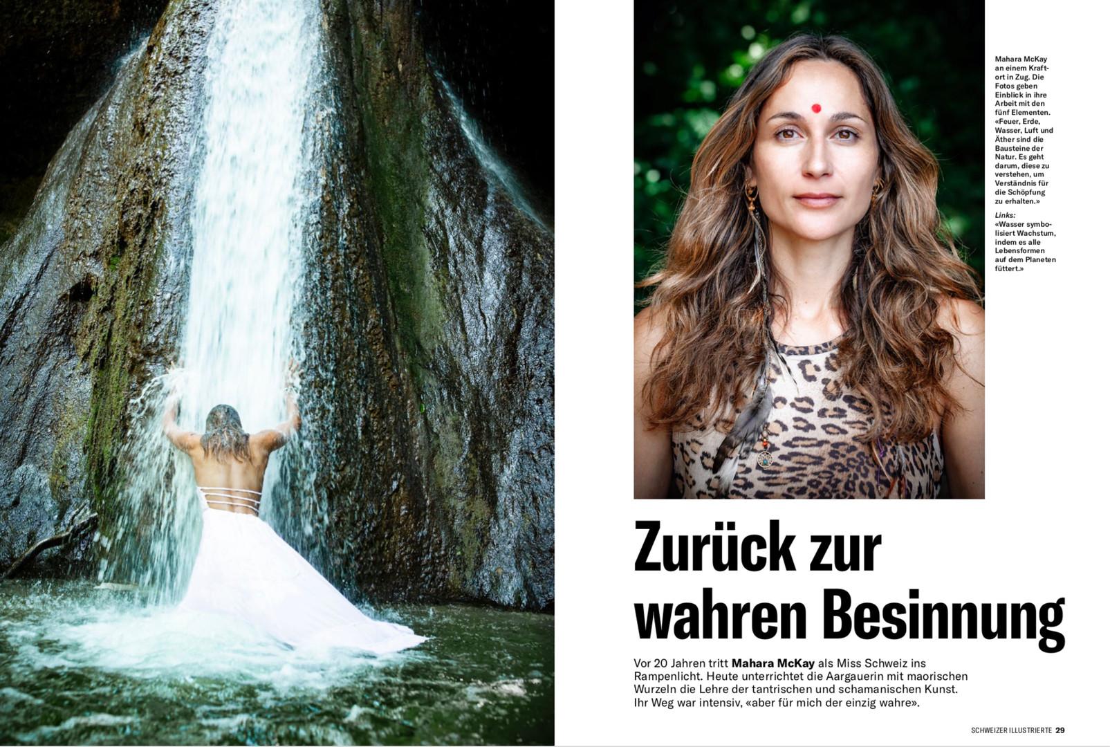 Schweizer Illustrierte Mahara Mckay 2020