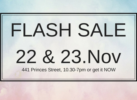 FLASH SALE 22-23.NOV