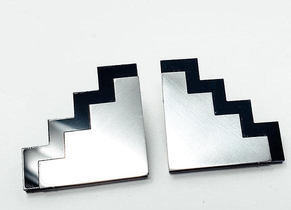 Stainless Steel Journey Earrings